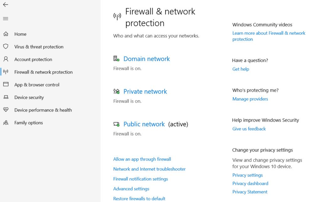 Host-Based Firewall