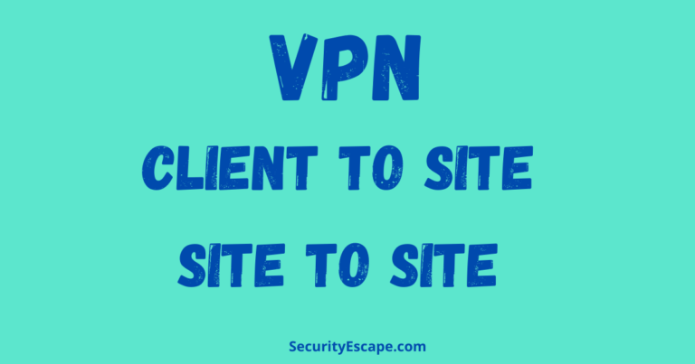 an enterprise-wide vpn can include elements of both the client-to-site and site-to-site models